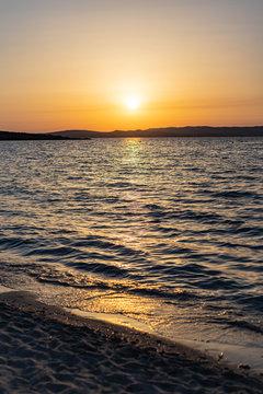 Sunset at Spiaggia La Salina, Sardinia, Italy 2
