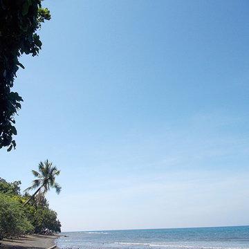 フィリピンのミンダナオ島の海と自然の風景