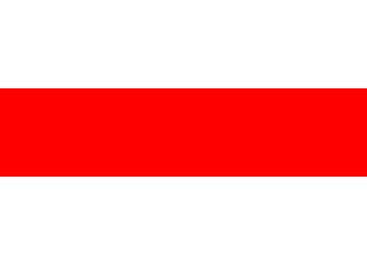 Republic Belarus White-Red-White flag conceptual illustration