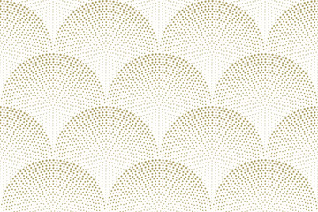 Fish scales seamless vector pattern