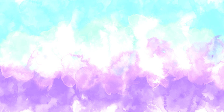 Purple background watercolor. Purple splash watercolor. Water color backdrop. Purple background watercolor. Abstract Purple splash watercolor on white background.