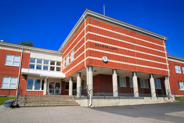Halikko High School, Finland. Public building.