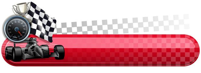 speed finish banner