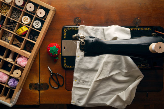 Sewing with a Vintage Machine
