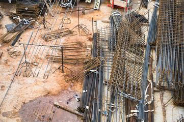 Construction site details