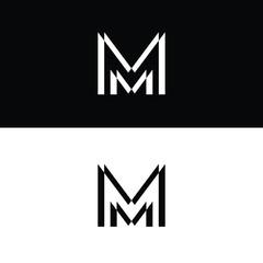 mm logo design images,photo & vector