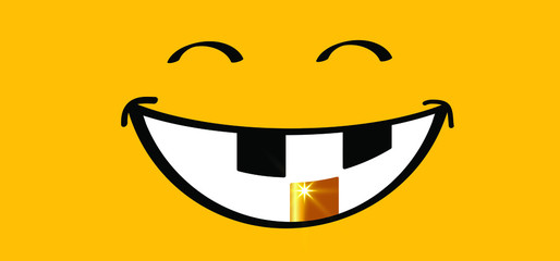 Happy world smile day, smiling is loading Big happiness Fun thoughts emoji face emotion smiley Laughter lip symbol Smiling lips, mouth, tongue Funny teeth Vector laugh cartoon pattern Lol laughing.