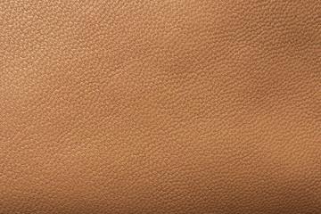 Poster de jardin Cuir Brown leather texture background close up