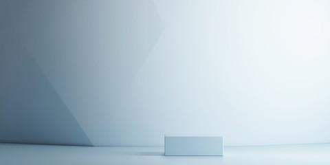 Mockup background branding for product presentation, 3d illustration,  3d rendering