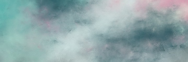 stunning old color brushed vintage texture with dark gray, teal blue and light gray colors. distressed old textured background with space for text or image. can be used as header or banner