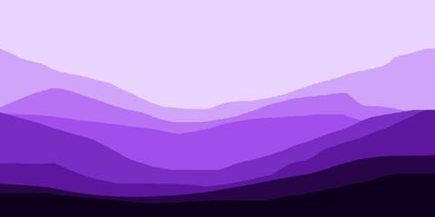 Vector ilustration of mountain landscape background wallpaper