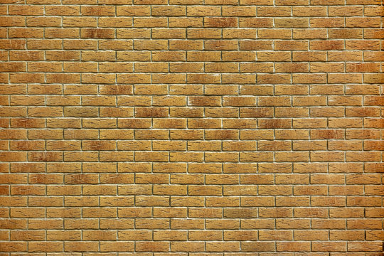 the old yellow brick wall