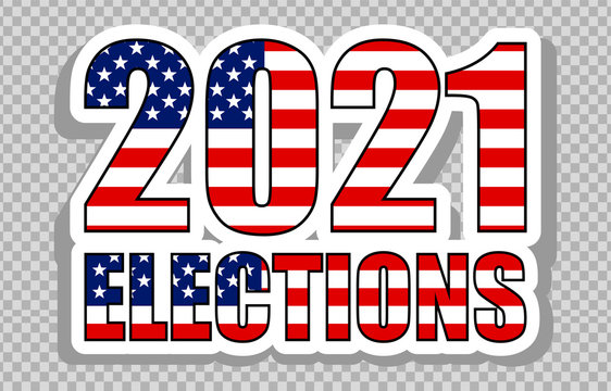 american elections vote vector illustration set. collection of badge patch stickers with democratic civil society slogans, stars and stripes flag elements. ready-made design for advertising printing
