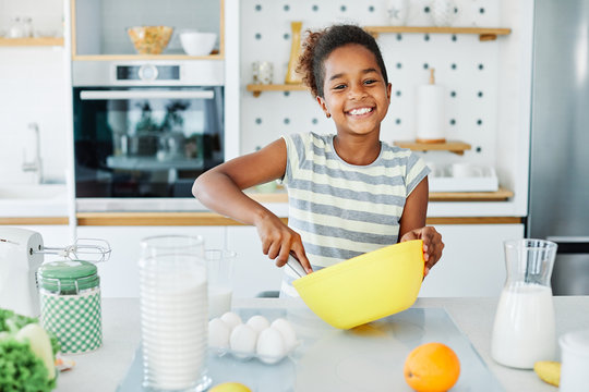 child girl kitchen cooking person food daughter childhood home cute happy