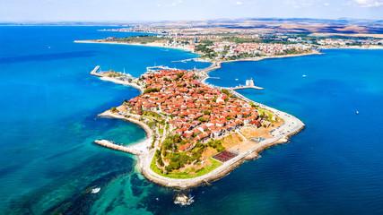 Fototapeta Nesebar, Bulgaria - Black Sea coastline