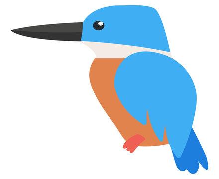 Eisvogel Vektor Illustration