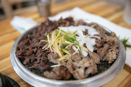 한국의 불고기