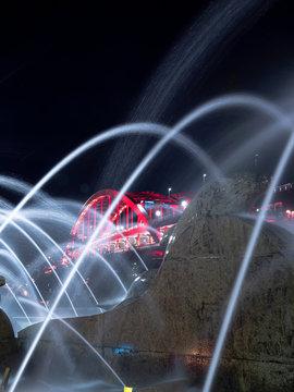 夜の神戸大橋