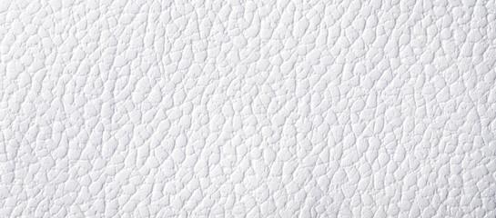 白いレザー調の紙の背景テクスチャー