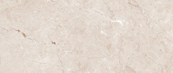 Polished beige marble. Real natural marble stone texture and surface background.