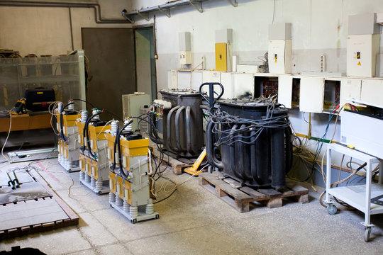 High voltage large transformer manufacturing