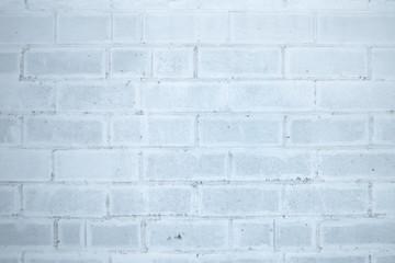 Fototapeta Beton wall. Brick wall. White and gray texture.  Background.
