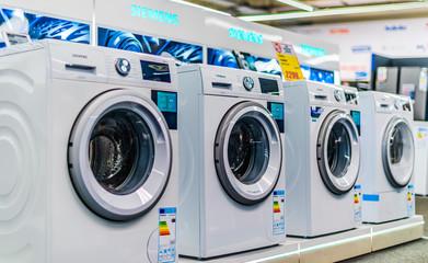 Front-loader washing machines by Siemens