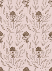 Wall Murals Retro Paper texture background, real cardboard pattern