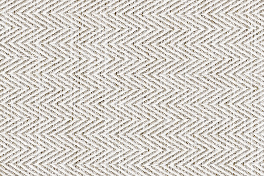 White,beige with brown colors fabric sample Herringbone,zigzag pattern texture backdrop.Fabric strip line,Herringbone pattern design,upholstery for decoration interior design background..