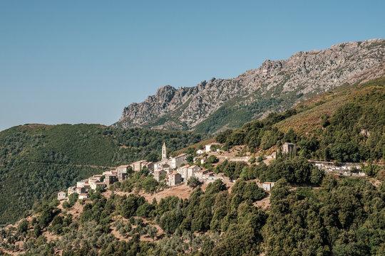Village of Lento in Corsica