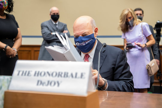 """House Oversight and Reform Committee hearing titled """"Protecting the Timely Delivery of Mail, Medicine, and Mail-in Ballots,\"""