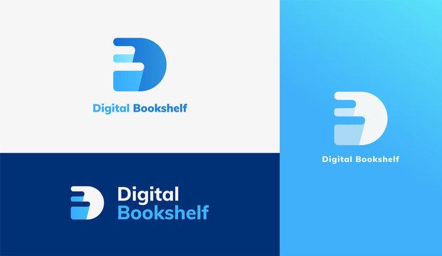 E-book logo set