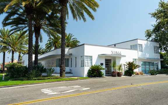 Art Deco Building in Southern California