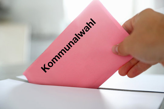 Wahlbrief Wahlschein zur Kommunalwahl