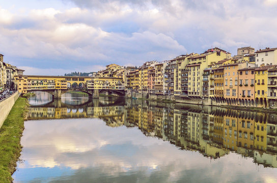 Beautifull shoot of Ponte Vecchio in Florence