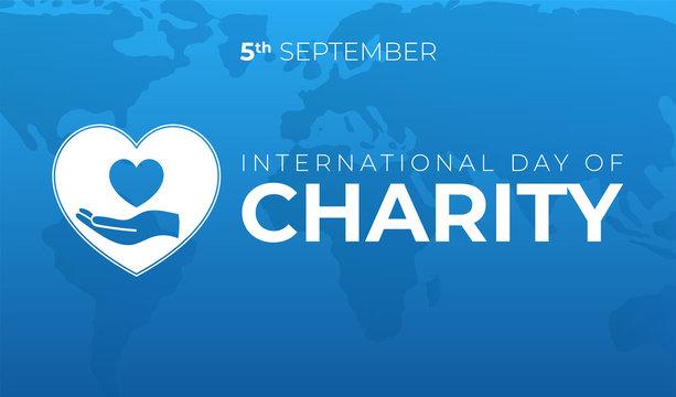 International Day of Charity llustration
