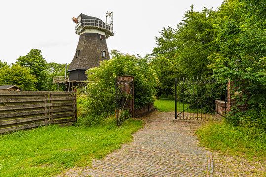 Holländermühle Sophiengroden bei Carolinensiel in Ostfriesland