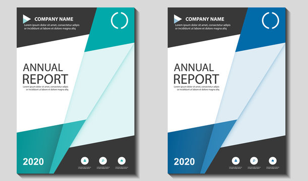 Vector Geometric Abstract Cover,Annual Report Book, Brochure, Newsletter for Corporate, Company, Business Template