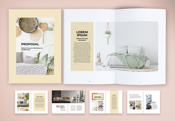 Nordic and Elegant Proposal Layout