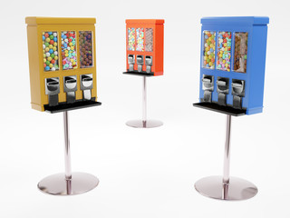 Vending machines with candies