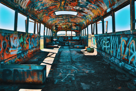 Abandoned School Bus