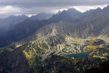 Autumn in the High Tatra Mountains, Valley of Five Polish Lakes, Poland