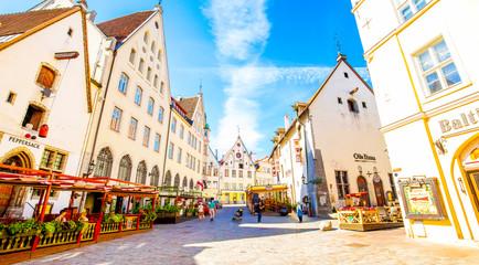 Tallinn old town panoramic view, Estonia