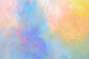 Art Abstract acrylic and watercolor painting. Pastel Color texture background.