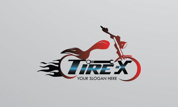 bike vector illustration editable automotive logo