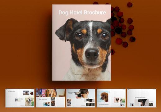 Dog Hotel Brochure Layout