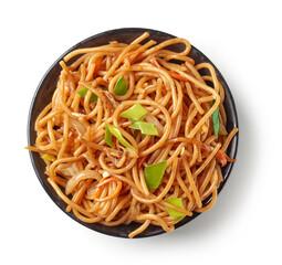 bowl of fried noodles