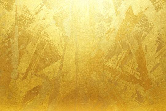 高級感のある金屏風のフレーム