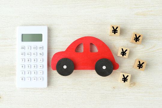 自動車に関わるお金のイメージ