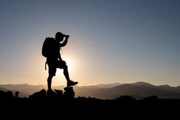 travel, hiking and adventurous nature to explore